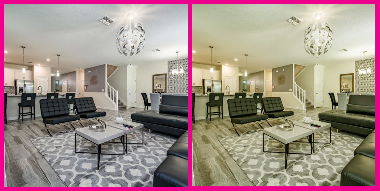 Casiola ChampionsGate Interior, before-after